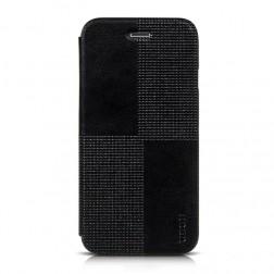 """HOCO"" Crystal Fashion atvēramais futrālis - melns (iPhone 6 / 6s)"