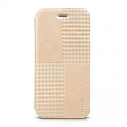 """HOCO"" Crystal Fashion atvēramais futrālis - zelta (iPhone 6 / 6s)"