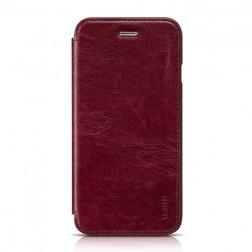 """""""HOCO"""" Crystal Classic atvēramais futrālis - sarkans (iPhone 6 / 6s)"""