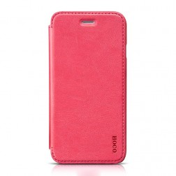 """HOCO"" Crystal Classic atvēramais futrālis - rozs (iPhone 6 / 6s)"