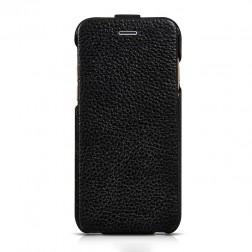 """""""HOCO"""" Duke vertikāli atvēramais futrālis - melns (iPhone 6 / 6s)"""