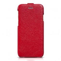 """""""HOCO"""" Duke vertikāli atvēramais futrālis - sarkans (iPhone 6 / 6s)"""