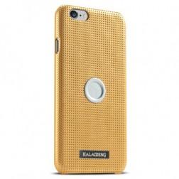 """Kalaideng"" Drive apvalks - zelta + autoturētājs (iPhone 6 / 6s)"