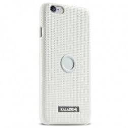 """Kalaideng"" Drive apvalks - balts + autoturētājs (iPhone 6 / 6s)"