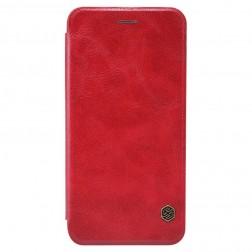 """""""Nillkin"""" Qin atvēramais maciņš - sarkans (iPhone 6 / 6s)"""