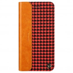 """Baseus"" Collocation solīds atvēramais maciņš - sarkans/melns (iPhone 6 Plus / 6s Plus)"