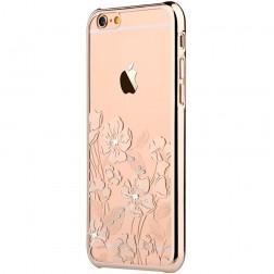 """Devia"" Rococo Swarovski apvalks - zelta (iPhone 6 Plus / 6S Plus)"