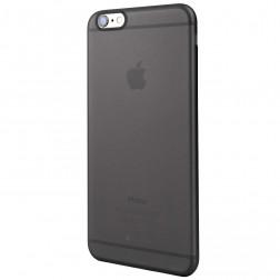 Cieta silikona (TPU) matēts apvalks - pelēks (iPhone 6 Plus / 6s Plus)