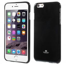 """""""Mercury"""" futrālis - melns (iPhone 6 Plus / 6s Plus)"""