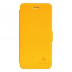 """""""Nillkin"""" Fresh atvēramais futrālis - dzeltens (iPhone 6 Plus / 6s Plus)"""