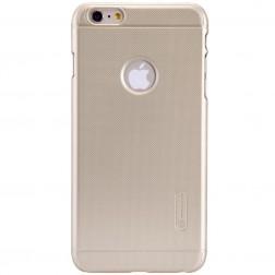 """Nillkin"" Frosted Shield apvalks - zelta + ekrāna aizsargplēve (iPhone 6 Plus / 6s Plus)"