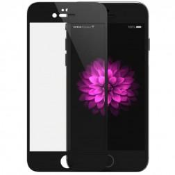 """""""Devia"""" 9H Tempered Glass ekrāna aizsargstikls 0.33 mm + aizsargplēve aizmugurējām vāciņam - melns (iPhone 6 Plus / 6S Plus)"""
