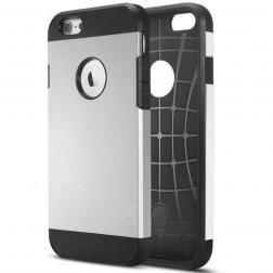 Pastiprinātas aizsardzības apvalks - sudrabs (iPhone 6 Plus / 6s Plus)