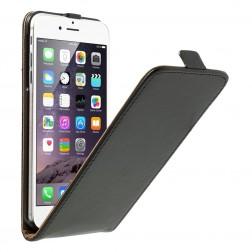 Klasisks atvēramais maciņš - melns (iPhone 6 Plus / 6s Plus)