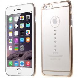 """X-Fitted"" Waterdrop Swarovski apvalks - zelta (iPhone 6 Plus / 6S Plus)"
