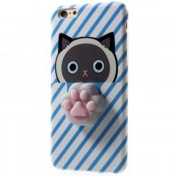 """Squezy"" Pėdutė cieta silikona (TPU) apvalks - zils (iPhone 6 / 6s)"