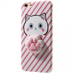 """Squezy"" Pėdutė cieta silikona (TPU) apvalks - rozs (iPhone 6 / 6s)"