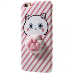"""Squezy"" Pėdutė cieta silikona (TPU) apvalks - rozs (iPhone 7 / 8)"