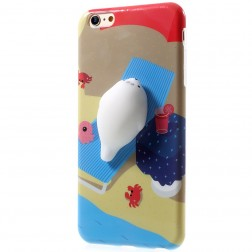 """Squezy"" Sea Lion cieta silikona (TPU) apvalks - brūns (iPhone 6 / 6s)"