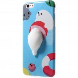 """Squezy"" Sea Lion cieta silikona (TPU) apvalks - zils (iPhone 6 / 6s)"