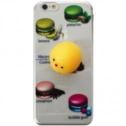 """Squezy"" Yolk cieta silikona (TPU) apvalks - dzidrs (iPhone 6 / 6s)"