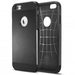 Pastiprinātas aizsardzības apvalks - melns (iPhone 6 / 6s)