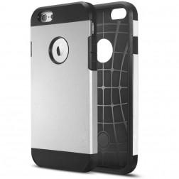 Pastiprinātas aizsardzības apvalks - sudrabs (iPhone 6 / 6s)