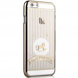"""Devia"" Love&Fun apvalks - zelta (iPhone 6 / 6S)"