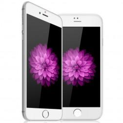 """""""Devia"""" Tempered Glass ekrāna aizsargstikls 0.33 mm - balts + aizsargplēve aizmugurējām vāciņam (iPhone 6 / 6S)"""