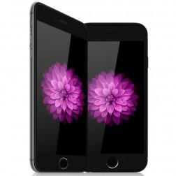 """Amorus"" Tempered Glass ekrāna aizsargstikls 0.33 mm - melns (iPhone 6 / 6S)"