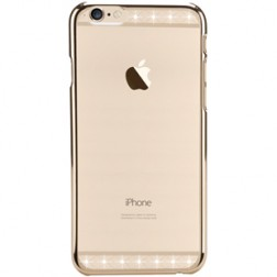 """X-Fitted"" Lace Swarovski apvalks - zelta (iPhone 6 / 6S)"