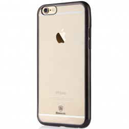 """Baseus"" Shining apvalks - dzidrs, melns (iPhone 6 / 6S)"