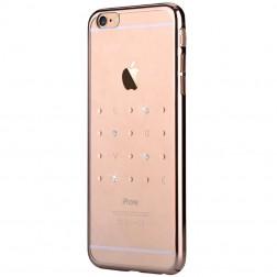 """""""Devia"""" Love Swarovski apvalks - zelta (iPhone 6 / 6S)"""