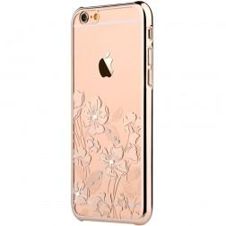 """""""Devia"""" Rococo Swarovski apvalks - zelta (iPhone 6 / 6S)"""