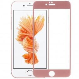 """""""Devia"""" Tempered Glass ekrāna aizsargstikls 0.33 mm - rozs + aizsargplēve aizmugurējām vāciņam (iPhone 6 / 6S)"""