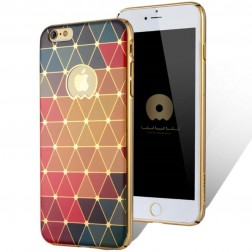 """""""JLW"""" Color Palette apvalks - krāsaina (iPhone 6 / 6S)"""
