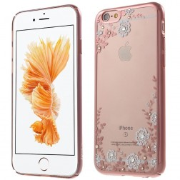 "Apple iPhone 6 (6s) ""Kavaro"" Flowers apvalks - rozs (iPhone 6 / 6S)"
