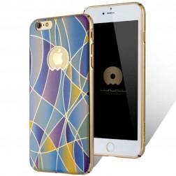 """""""JLW"""" Color Palette apvalks - zilgans (iPhone 6 Plus / 6S Plus)"""
