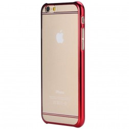 """ROCK"" Neon apvalks - sarkans (iPhone 6 / 6S)"