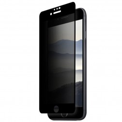 """Remax"" Tempered Glass melns ekrāna aizsargstikls 0.26 mm - privāta (iPhone 7 / 8)"