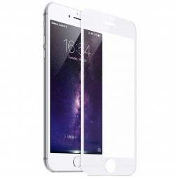 """Mocolo"" Tempered Glass ekrāna aizsargstikls 0.3 mm - balts (iPhone 6 / 7 / 8)"