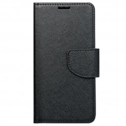 """Fancy"" atvēramais maciņš - melns (iPhone 7 / 8 / SE 2020)"