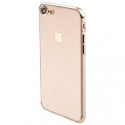 """Sulada"" cieta silikona (TPU) apvalks - dzidrs, zelta (iPhone 7 / 8 / SE 2020)"