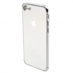 """Sulada"" cieta silikona (TPU) apvalks - dzidrs, sudrabs (iPhone 7 / 8 / SE 2020)"