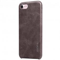 """""""X-Level"""" Vintage ādas apvalks - brūns (iPhone 7 / 8 / SE 2020)"""