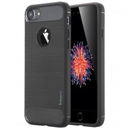 """""""IPAKY FASHION"""" cieta silikona (TPU) apvalks - melns (iPhone 7 / 8)"""
