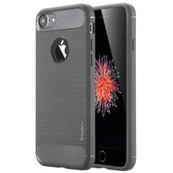 """""""IPAKY FASHION"""" cieta silikona (TPU) apvalks - tumši pelēks (iPhone 7 / 8)"""