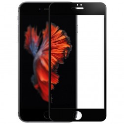 """Amorus"" Tempered Glass ekrāna aizsargstikls 0.3 mm - melns (iPhone 7 Plus / 8 Plus)"