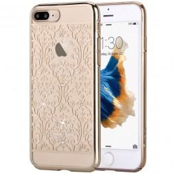 """Devia"" Baroque Swarovski apvalks - zelta (iPhone 7 Plus / 8 Plus)"