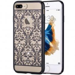 """Devia"" Baroque Swarovski apvalks - melns (iPhone 7 Plus / 8 Plus)"
